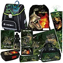 70 cm Schultüte rund mit Filzverschluss Dino Dschungel Sound Saurier Dino