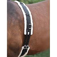 White Horse Equestrian - Sistema de Entrenamiento de Pony COB, Ecuestre, Negro, Plein