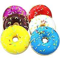 Omiky® Squishy Squeeze Stressabbau weichen bunten Donut duftenden langsam steigenden Spielzeug