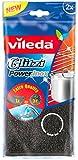 Vileda Glitzi Power Inox – Stahlschwamm speziell für hartnäckige Verschmutzungen, 2 Stück