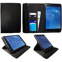 Archos 101b Copper 10.1 Pollici Tablet Nero Universale 360 Gradi di Rotazione PU Pelle Custodia Case Cover di Sweet Tech