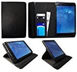 UNUSUAL 10Z 9.7 Pulgadas Tablet Negro Universal 360 Grados de Rotación Cuero PU Funda Carcasa Case Cover de Sweet Tech
