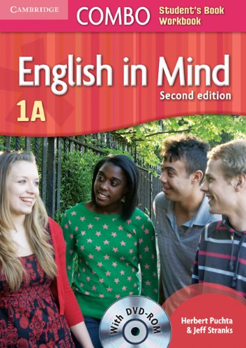 English in Mind 2nd  1 Combo A with DVD-ROM - 9780521183260