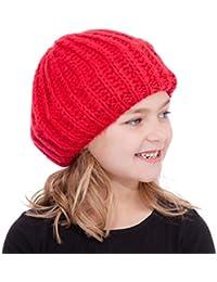Rjm Chaussettes en tricot doux Lurex Bonnet Béret