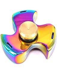 Fidget un Spinner mano giocattolo, ad MALLCROWN alta velocità Spinner Fidget enfoque giocattolo par alleviare l'ansia ridurre giocattolo estrés Fidget