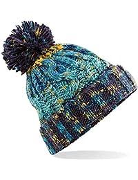4sold Winter Autunno Inverno Cappello più Pom Pom Invernale di Lana  Berretto delle Signore delle Uomo Donne Beanie Hat Corkscrew Cable… 159a1803d133