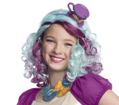 Rubies 352884 - Perücken und Haarteile Madleen Hatter Wig, STD, lila / (Amazon Ever After Kostüme High)