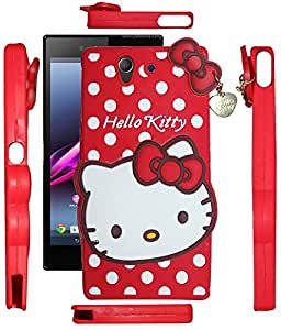 Meephone Hello Kitty Back Cover Sony Xperia Z5 Red