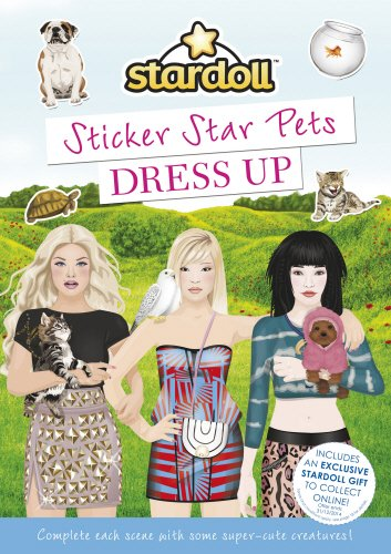 Stardoll: Sticker Star Pets Dress Up (Stardoll Sticker Styling Series)