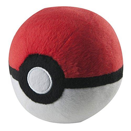 Pokemon T18852DPB Poke Ball Plush - White
