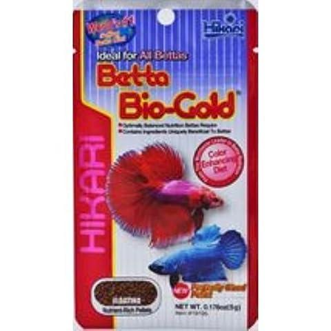 Hikari Tropical Betta Bio-Gold Aliment pour poissons tropicaux Granulés flottants 5g