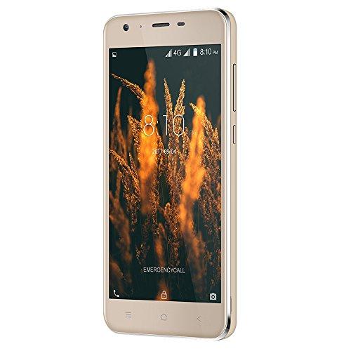 Blackview A7 Pro 4G Smartphone Pantalla de 5 0 Pulgadas HD Android 7 0 ROM de 2 GB RAM de 16 GB MTK6737 Quad Core 1 3GHz 8 0MP   0 3MP Dual Rear 5 0MP
