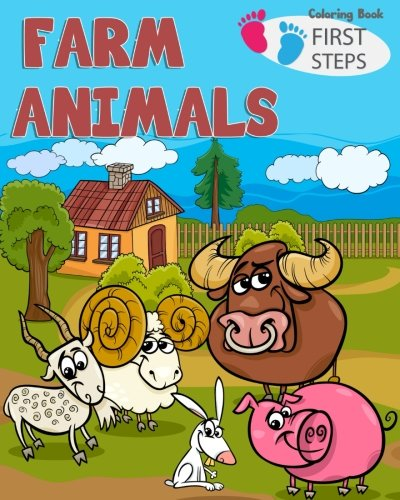 g Book: farm animals books for kids & toddlers | Boys & Girls | activity books for preschooler | kids ages 1-3 2-4 3-5 (Easy & Educational Coloring Book, Band 2) ()