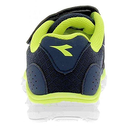 Diadora Unisex-Kinder Hawk 7 Jr Laufschuhe Blau