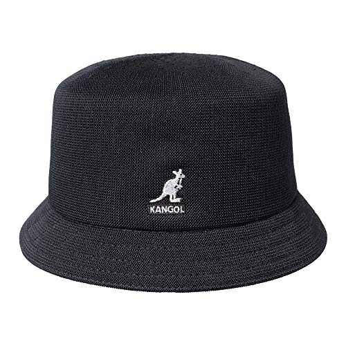 Kangol Tropic Bin Fischerhut - Schwarz - XL -