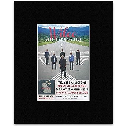 Wilco - 2016 Star Wars Tour - paspartú minipóster 25,4 x 20,3 cm