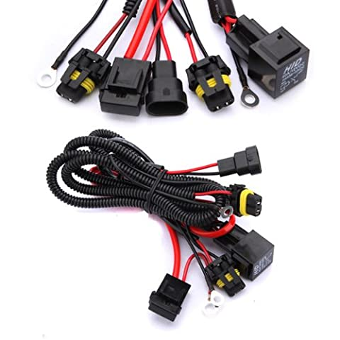 HID Conversion Light Relay Wiring Harness Kit - Gain Up