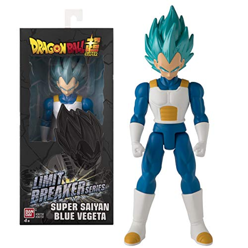Dragon Ball- Vegeta Super Saiyan Blue Limit Breakers, Multicolor (Bandai 36732)