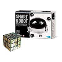 The Good Gift Shop Smart Robot DIY Educational Electronics Kit - Comes with a Fun Wild Animal Magic Cube