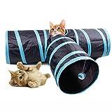 KINGDUO Yani Mc-Pw1 3 Weise Katze Spielen Tunnel Kreative Haustier Katze Aufgeschüttet Dekompression Spielzeug