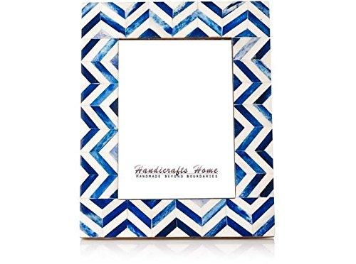 picture-frames-photo-frame-chevron-herringbone-vintage-wooden-handmade-naturals-bone-classic-size-4x