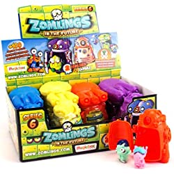 Zomlings Caja con 12 cápsulas, Serie 6 (Magic Box INT. Toys ZM6P0301)