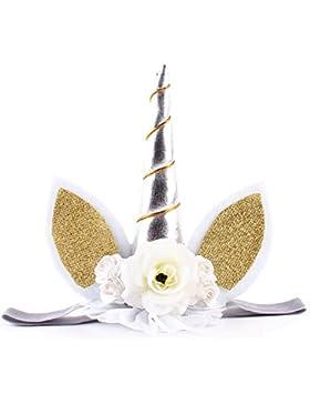 FAIRY COUPLE Niñas Unicornio Venda Fiesta de Cumpleaños Sombrero A-H025