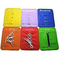 Button Set Zip Accrochage Boucle Plaque De Dentelle Cravate Enfants Jouet éducatif