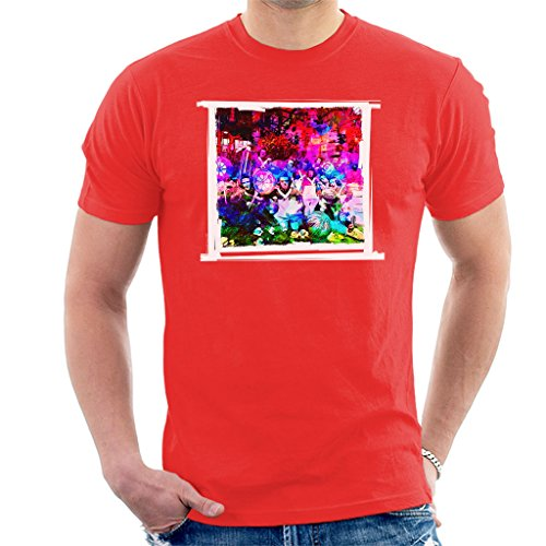 Willy Wonka and The Chocolate Factory Oompa Loompas On Set Men's T-Shirt Oompa Loompa-shirts