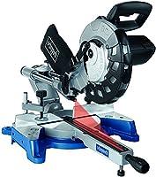 Scheppach 590 1202 901 240 V 10-Inch 254 mm Sliding Mitre Saw - Grey/Blue