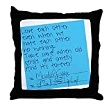 Monsety Grey S Anatomy Sticky note confortevole guanciale cuscino decorativo copre 45 x 45 cm quadrato