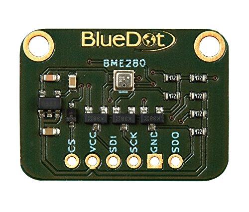 Temperatur-feuchte-sensor (BlueDot BME280 Sensor für Arduino: Temperatur, Feuchte und Luftdruck)