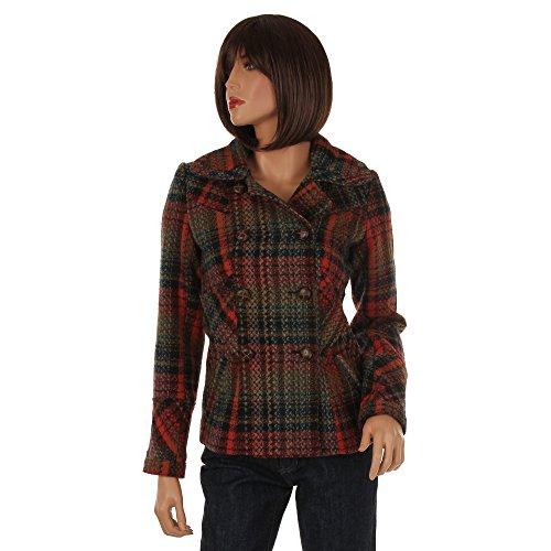 Guess Manteau pour femme Multicolore