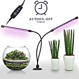 LED Grow Light Grow Led Indoor Mit Automatischem On/8 Ebenen Dimmbar, 40Leds Mit Doppelkopf-LED-Lampenanlagen, 360 Grad LED-Lampe Cultivoados
