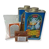 10-14 Tage Neera-Zitronensaftkur (2 Liter Neera-Baumsirup, Cayenne, Salz)