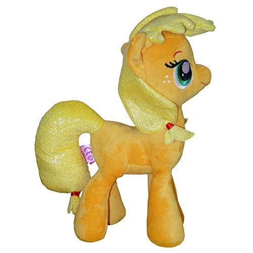MLP My Little Pony Plüschtier mit glitzernden Flügeln und Mähne für Kinder (27cm)