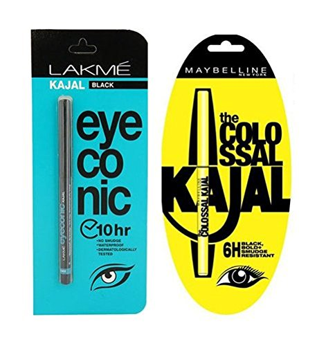 Kesudo New Black Eyeconic Kajal Pack-2