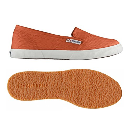 Superga 2210 Cotu, Baskets Basses mixte adulte Red Coral
