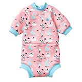 Splash About Kids' Happy Nappy Wetsuit - Nina'S Ark, X-Large 12-24 Months