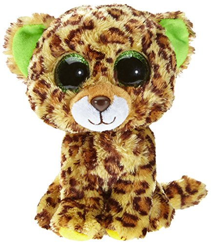 Beanie Boo Leopard - Speckles - Brown/Yellow - 15cm 6""