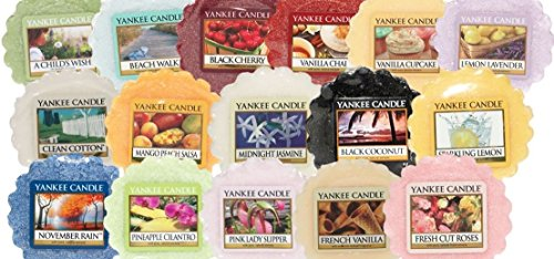 Yankee Candle, 5 tart in cera profumate, fragranze miste Confezione o