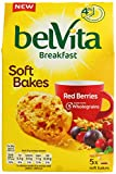 Belvita Soft Bakes Red Berries Biscuits, 6x250g (Pack of 6)
