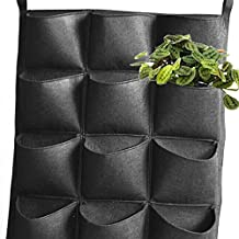 Bolsa Vertical Colgante de Planta Flores Hierba 54cm*54cm