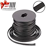 """100ft - 1/8""""PET Expandable Braided Sleeving Braided Hose Cable Management"""