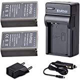 Bitbiz 7.6Volts BLN1 Power Replacement Battery Charger For Olympus BLN-1 BCN-1,Pen F,OM-D E-M1,OM-D E-M5,OM-D E-M5 Mark II,OM-D E-P5 Digital SLR Camera Rechargeable Li-Ion Battery Pack And Charger Kit