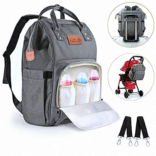 Viedouce Baby Wickelrucksack Wickeltasche Babytasche,Wasserdicht Oxford Große Kapazität Kein Formaldehyd für ausgehen reisen einkaufen restaurant,Multifunktional zum Rucksack Handtasche Reisetasche