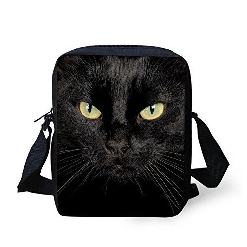 Nero S Borsa Pug Black Donna Cat A Tracolla Hugsidea Da HUXggq
