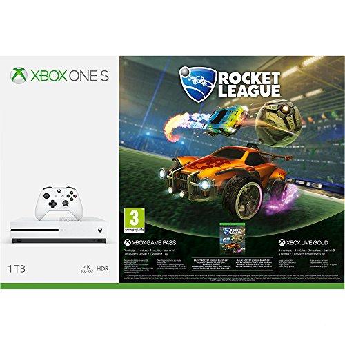 Xbox One S 1TB Konsole - Rocket League Bundle