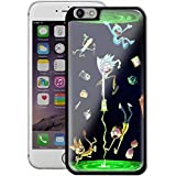RICK AND MORTY COMIC For Iphone And Samsung Galaxy Case (iPhone 6 plus/6S plus black)