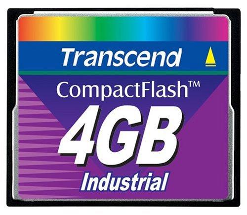 Transcend 4GB INDUSTRIAL CF CARD (45X) - Transcend Flashspeicher Compact Flash Card (CF)